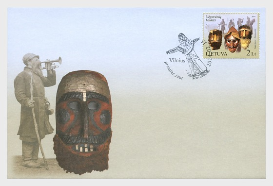 Lithuanian National Minorities - The Karaites - First Day Cover