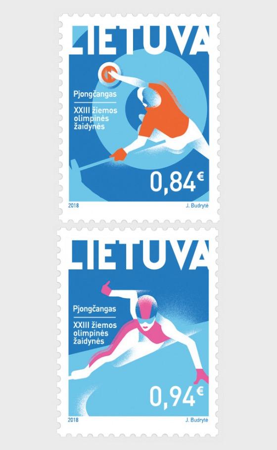 XXIII. Olympischen Winterspiele - Serie