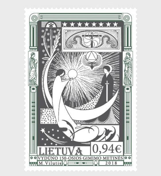 150 ° Anniversario di Nascita di Vydunas - Serie