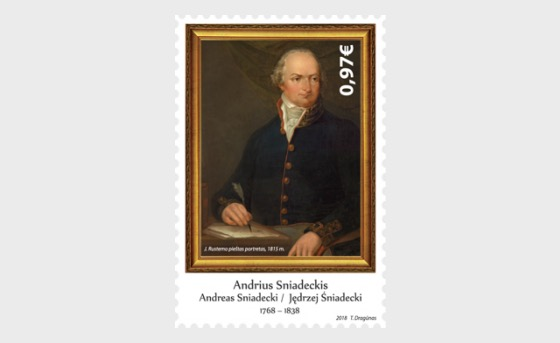 250th Anniversary of the Birth of Andrius Sniadeckis - Set