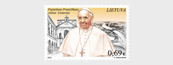 Visit of Pope to Lithuania - Set