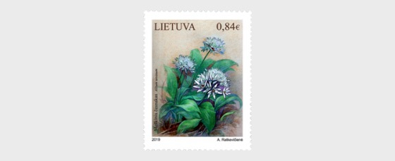 Lithuania Red Book, Plants (Allium Ursinum) - Set