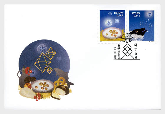 Noël et Nouvel An 2019 - Enveloppes de Premier Jour