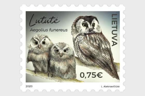 Lituania Libro Rojo, Aves - Series