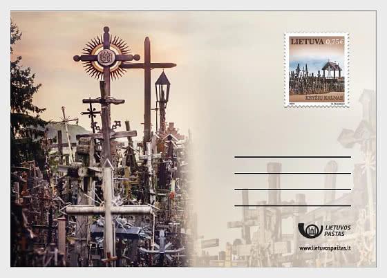Colline des Croix - Carte postale