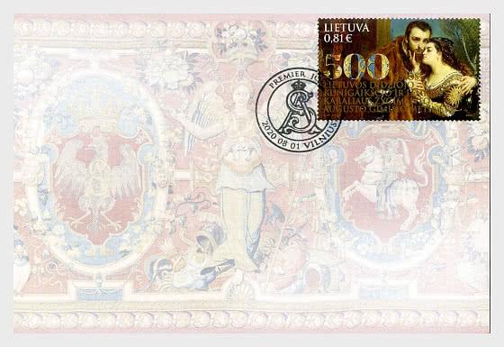Emisión Conjunta Lituania - Polonia - 500th Ann. Del Gran Duque De Lituania Y El Rey De Polonia Segismundo Augusto - Sobre de Primer Dia