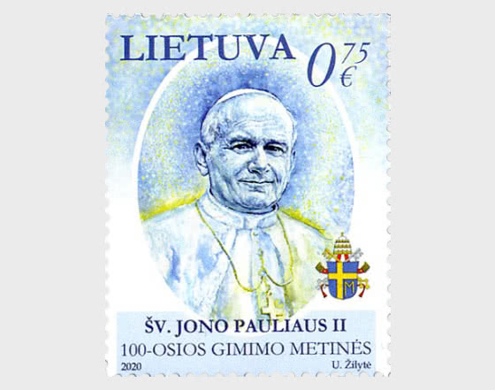 100th Anniversary of the Birth of  St. John Paul II - Set