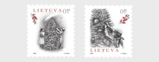 Santa Navidad y Año Nuevo 2020 - Series