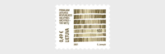 100 Years of Lithuanian State Archives - Set