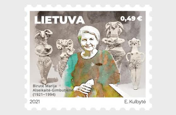 Personajes Mundialmente Famosos De Origen Lituano - A Birute Marija Alseikaite-gimbutiene - Series