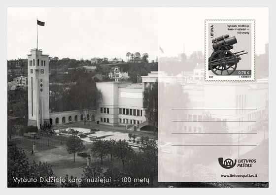 100e Anniversaire De Vytautas Le Musée De La Grande Guerre - Carte postale