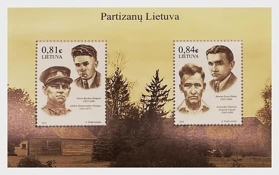 Partisans of Lithuania - Miniature Sheet
