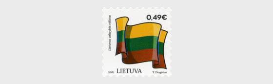 Symboles de l'État Lituanie - Drapeaux - Séries
