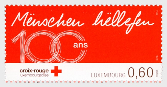 100 Years Of The Luxembourg Red Cross - Set