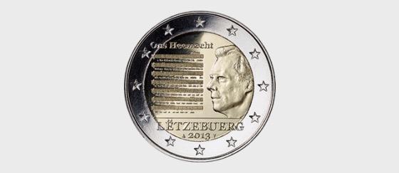 2€ 2013 coin Ons Heemecht - Single Coin