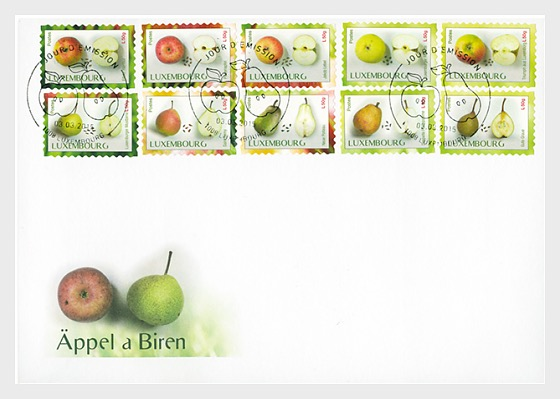 Fruit Varieties - First Day Cover