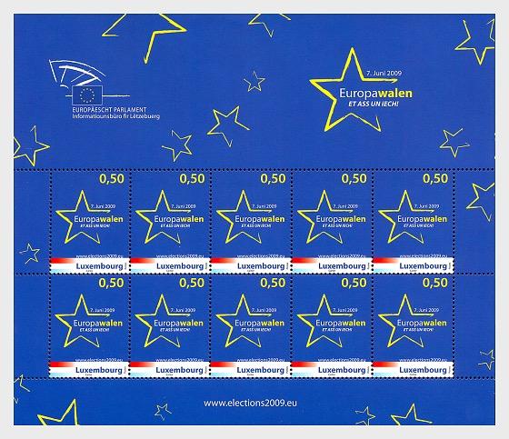 European elections - Sheetlets