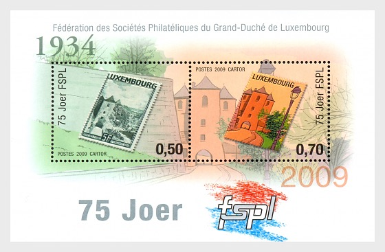 75th Anniversary of the FSPL - Miniature Sheet