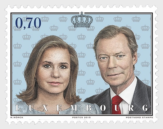 15th anniversary of the beginning of the reign of His Royal Highness Grand Duke Henri - Set