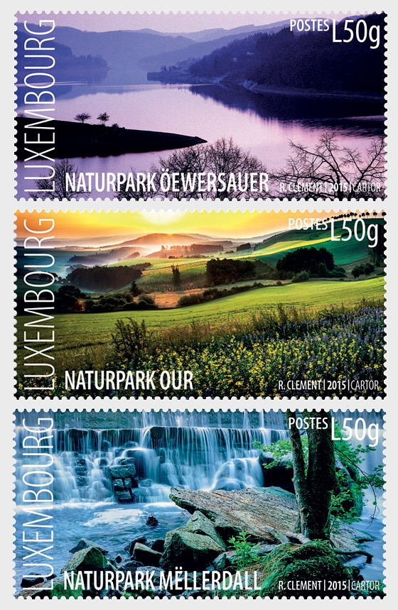 The three nature reserves of Luxembourg - Set