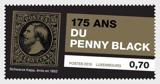 The 175th anniversary of postage stamps - Set