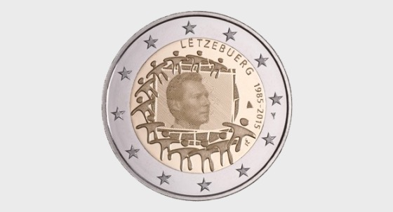 30th anniversary of the European Flag - Single Coin