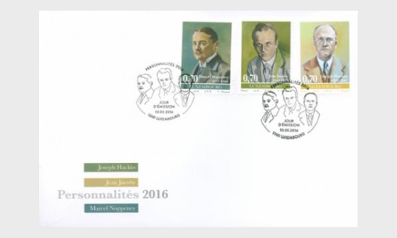 Personalities 2016 - First Day Cover