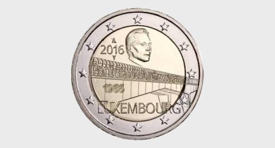 50 Years G.-D. Charlotte bridge (Pont Rouge) - Commemorative