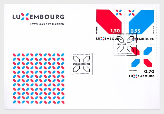 Special series Luxembourg's new Signature - First Day Cover