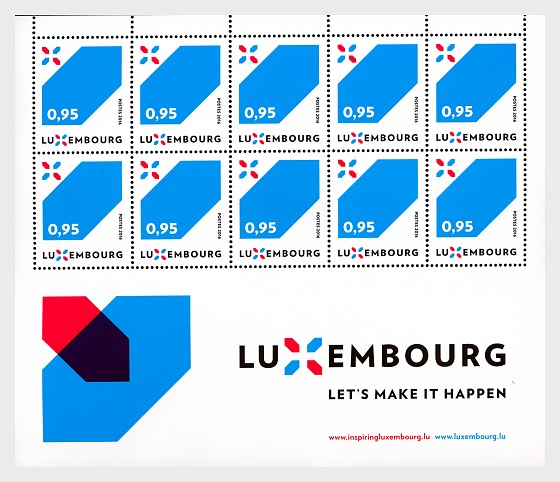 Special series Luxembourg's new Signature - Sheetlets