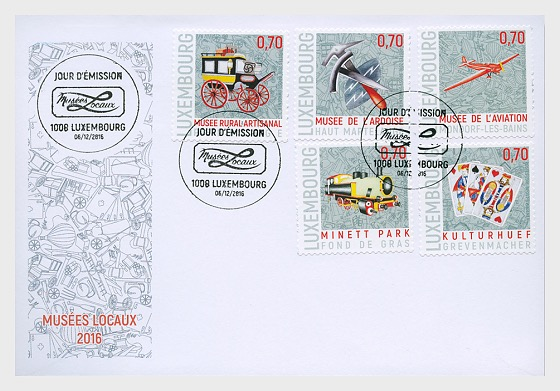 Local Museums - First Day Cover