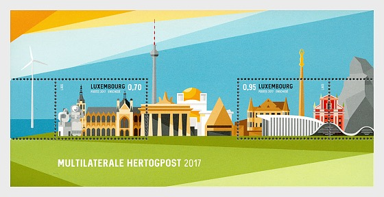 Multilaterale Hertogpost 2017 - Miniature Sheet