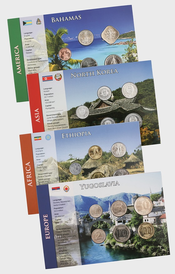 Coin sets of all nations - Part 1 - Coin Card