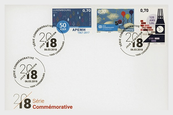 Commemorative 2018 - First Day Cover