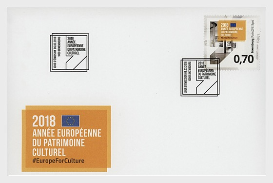 European Year of Cultural Heritage - First Day Cover