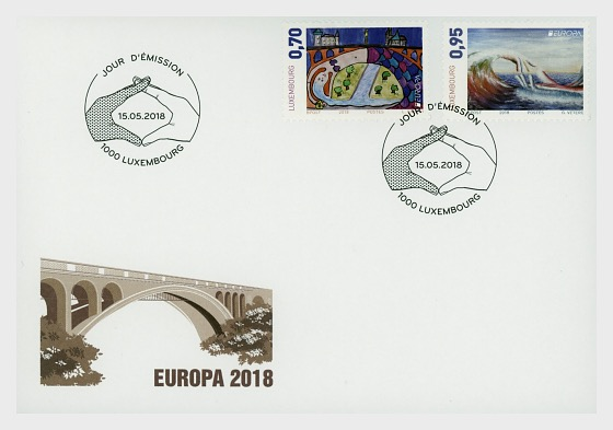 Europa 2018 - First Day Cover