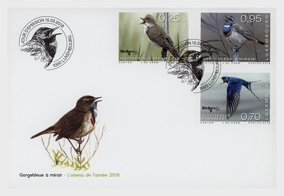 Rare Birds - First Day Cover
