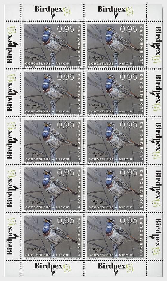 Rare Birds - (€0.95 Sheetlet) - Sheetlets