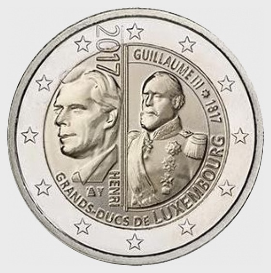 Coin 2017 Guillaume III - Single Coin