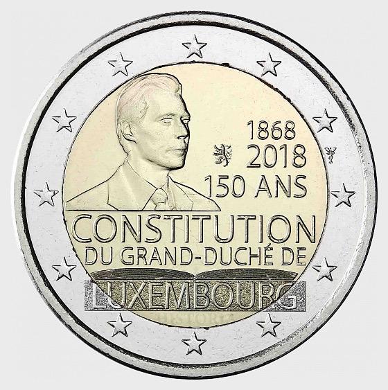 Münze 150 Jahre Verfassung - Einzelne Münze