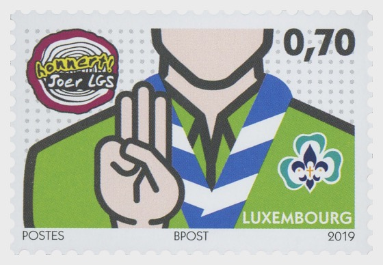 100 Years of 'Letzebuerger Guiden a Scouten' - Set