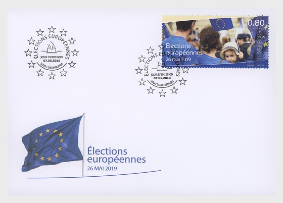 2019 European Elections - First Day Cover