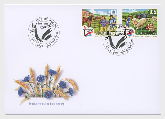 Rural Tourism 2019 - First Day Cover
