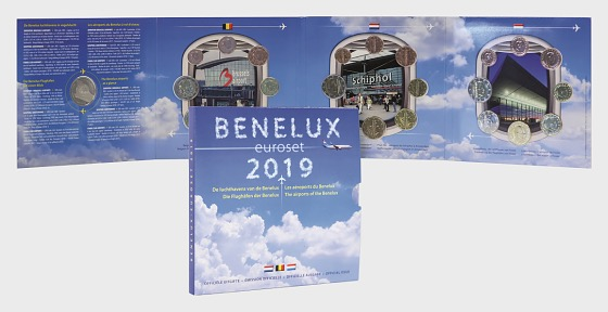 Benelux Euroset 2019 - Coin Year Set