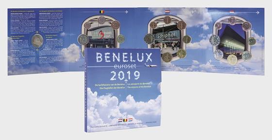 Benelux Euroset 2019 - Münzen Jahr-Set