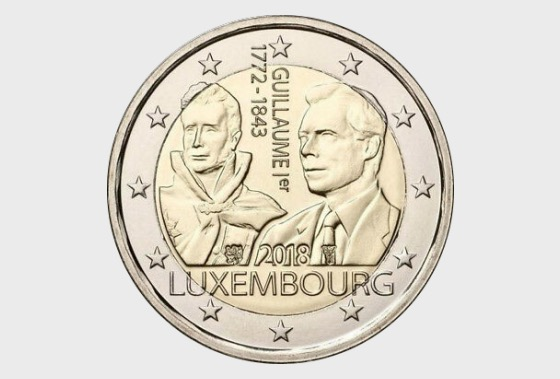 175th Anniversary of the Death of Guillaume I - Single Coin