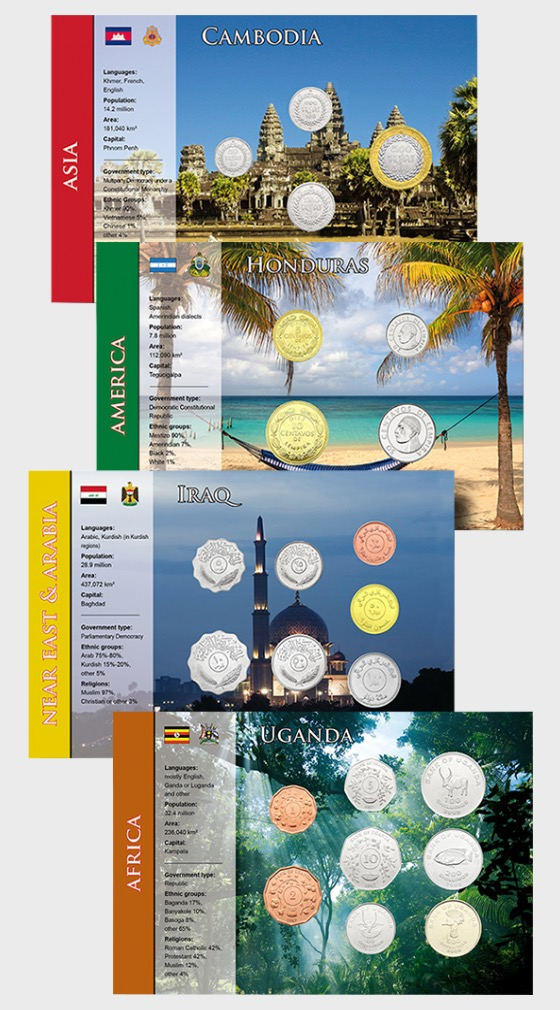 Coin Sets of all Nations 3 - Coin Card