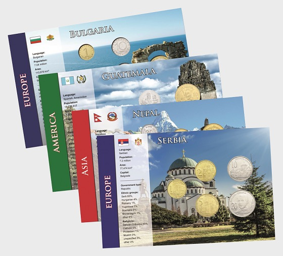 Coin Sets of all Nations 4 - Coin Card