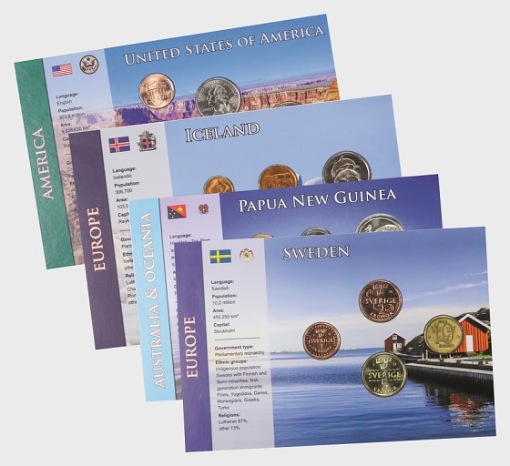 Coin Sets of all Nations 5 - Coin Card