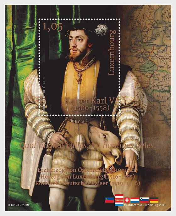 Charles V, Holy Roman Emperor - Miniature Sheet
